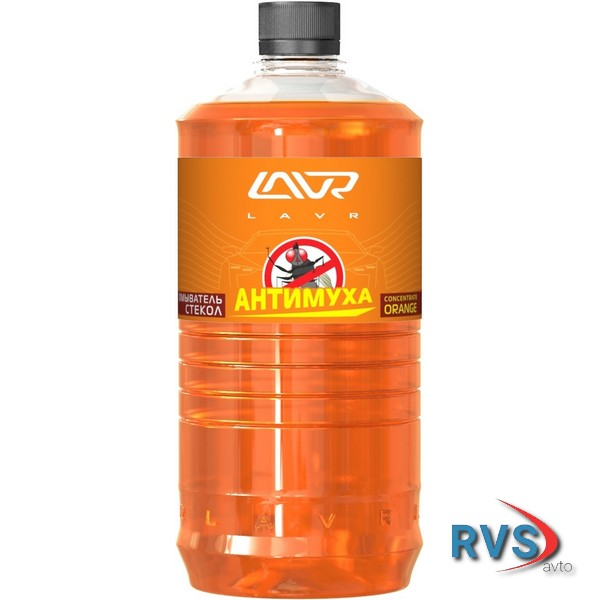 LAVR ln1217 LAVR Ln1217 Омыватель стекол Orange Анти Муха концентрат LAVR Glass Washer Concentrate Anti Fly 1000мл