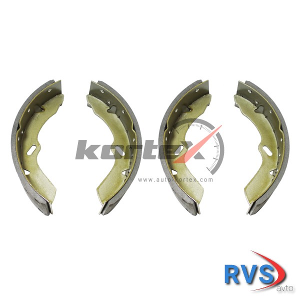 KORTEX ks004std Колодки барабанные HYUNDAI HD45/HD46/HD65/HD72/HD7 KORTEX KS004STD